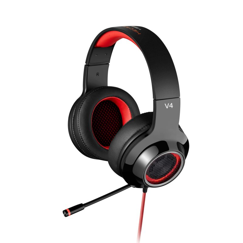 Edifier V4 Gaming Headset (Red)